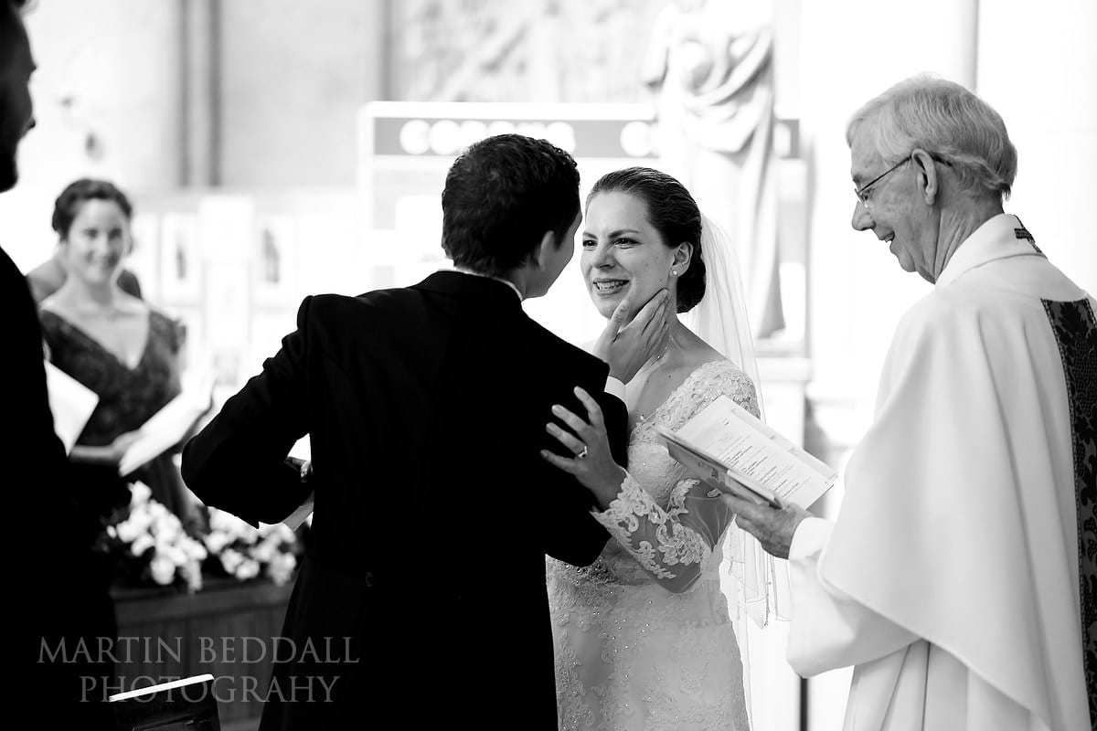 Married at Arundel Cathedral