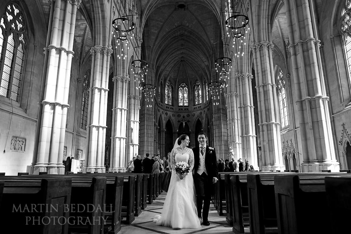Arundel Cathedral wedding photography