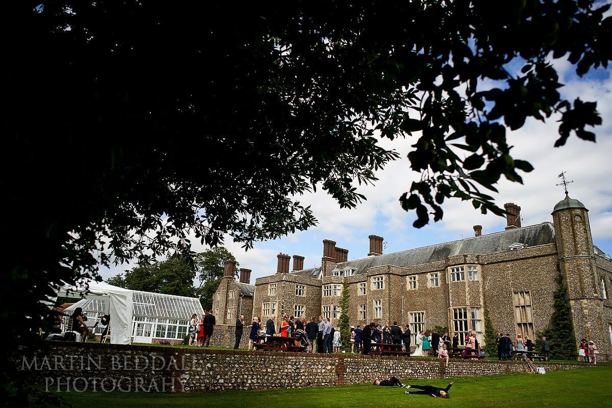 Slindon College wedding reception