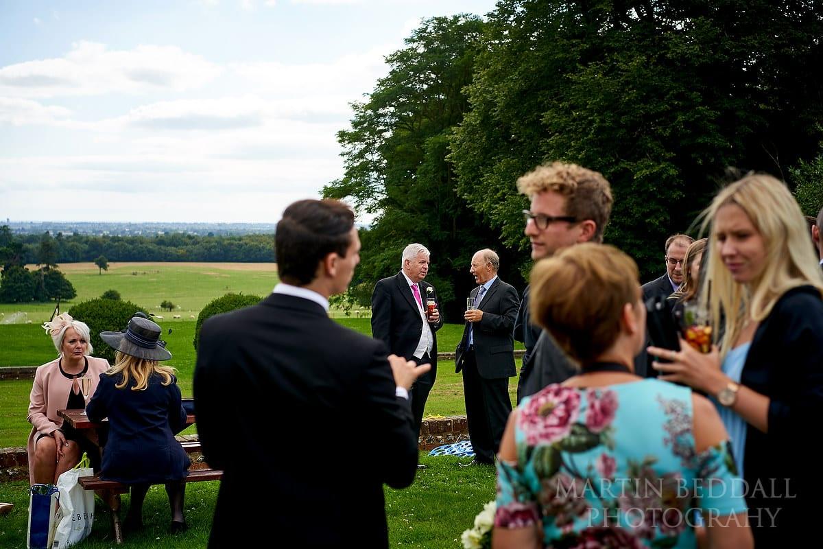 Arundel Cathedral wedding reception at Slindon College