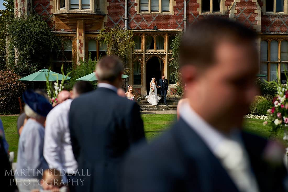 Horsted Place wedding ceremony