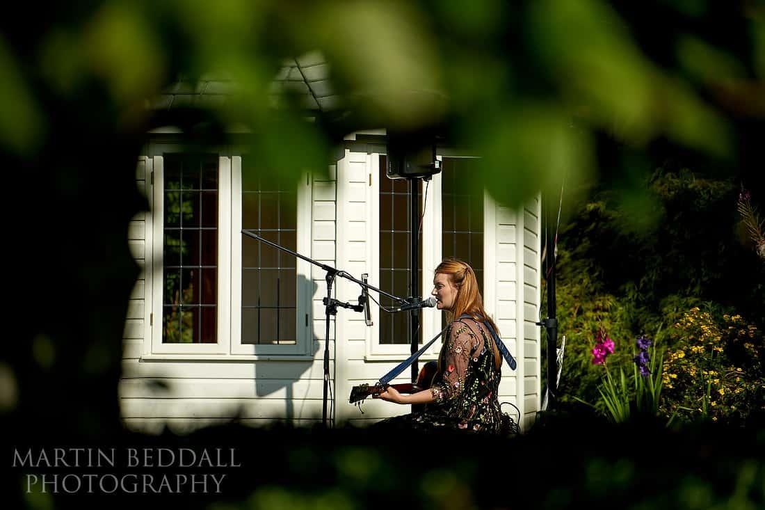 Lauras PaperHeart musician