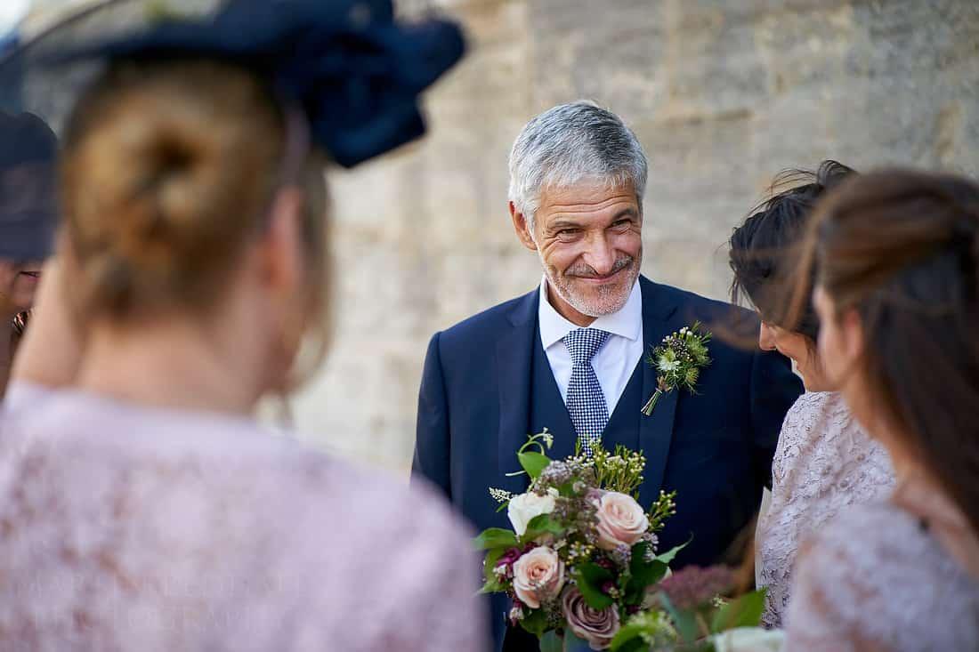 Bride's father