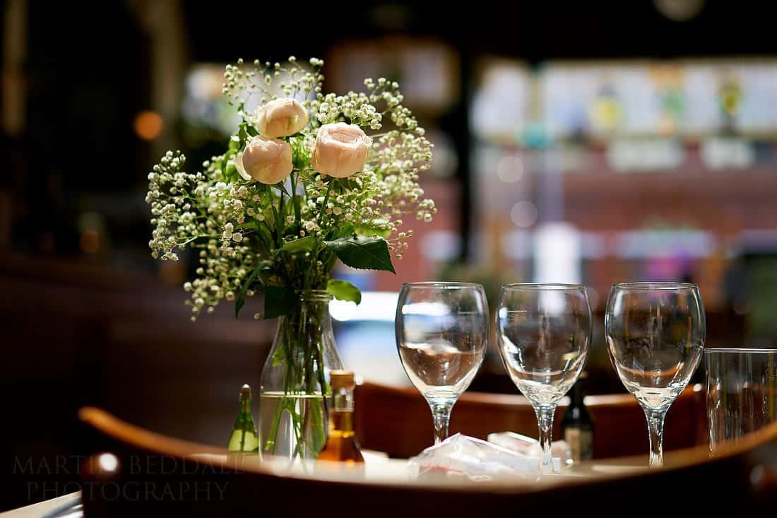 Rosie's vineyard wedding detail