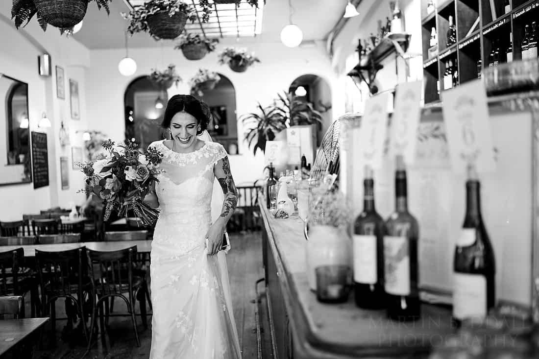 Bride at Rosie's Vineyard
