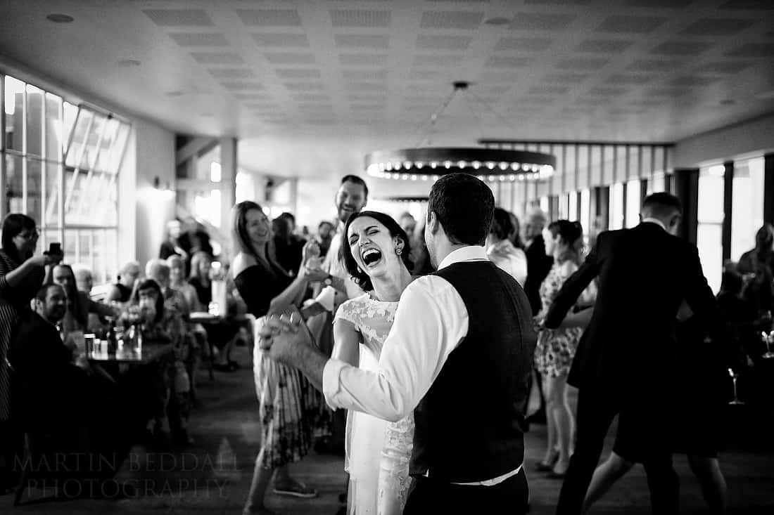 Wedding first dance at Boathouse 4