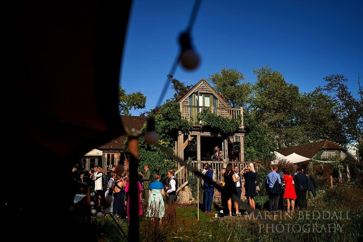 Wedding reception at The Copse