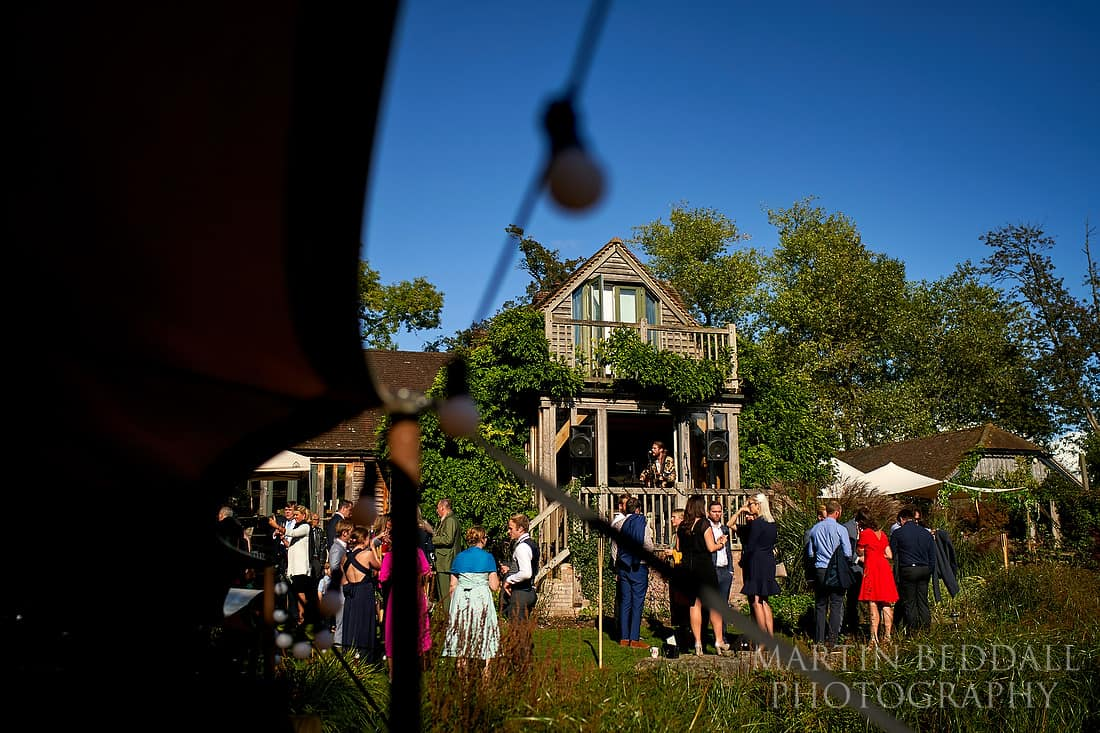 Wedding reception at The Copse