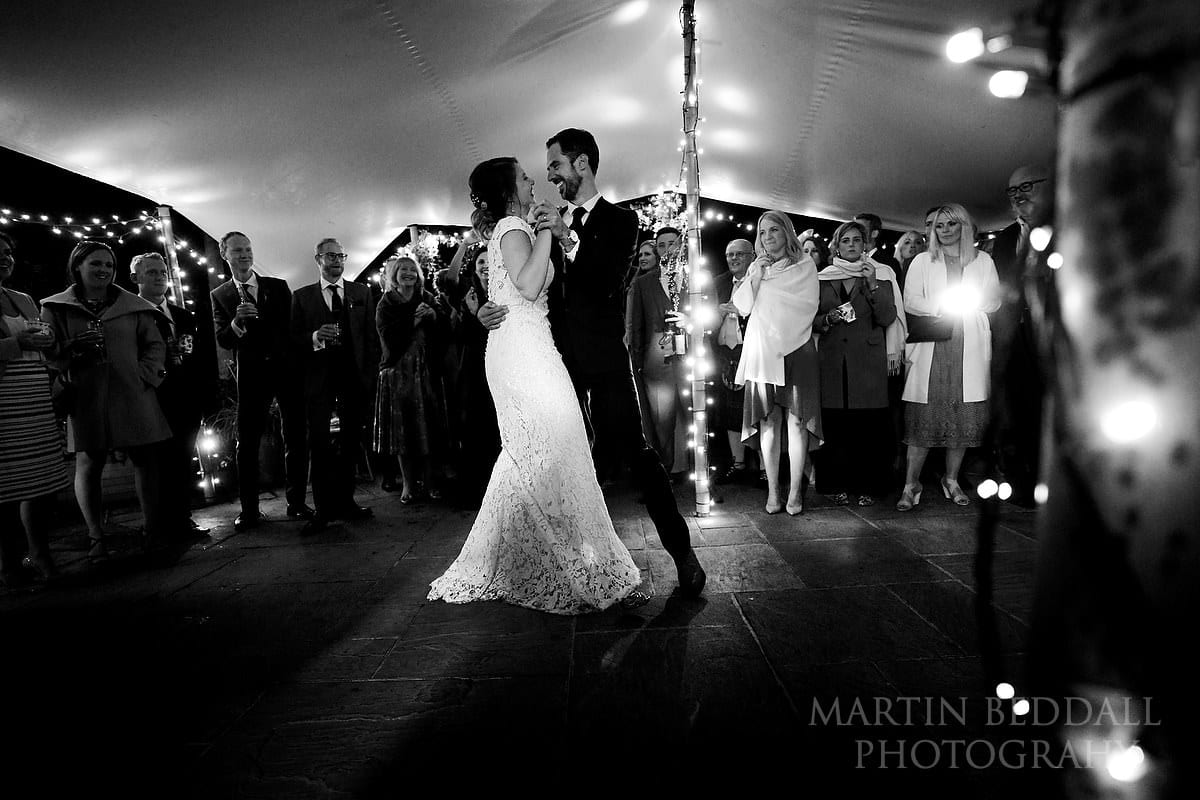 The Copse wedding first dance