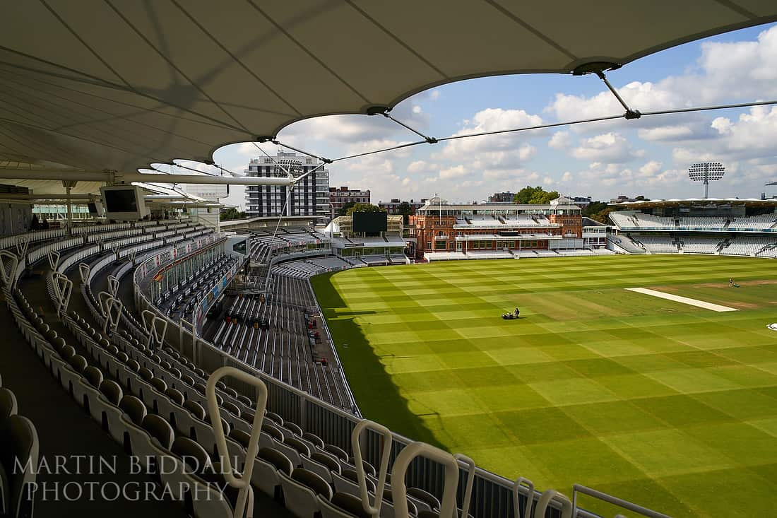 Lord's cricket ground wedding