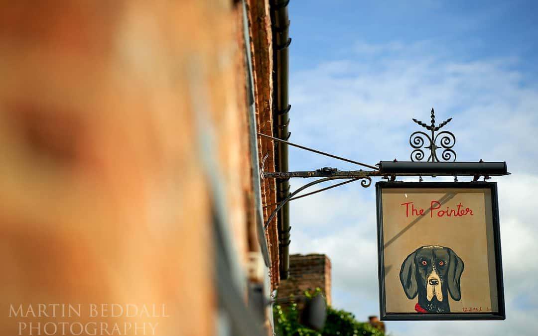 The Pointer pub – Gabrielle & Steven