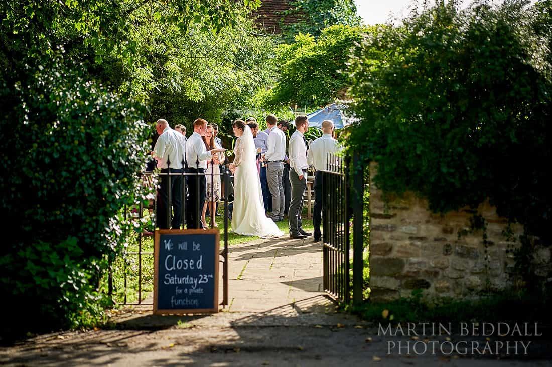 Pointer pub wedding reception