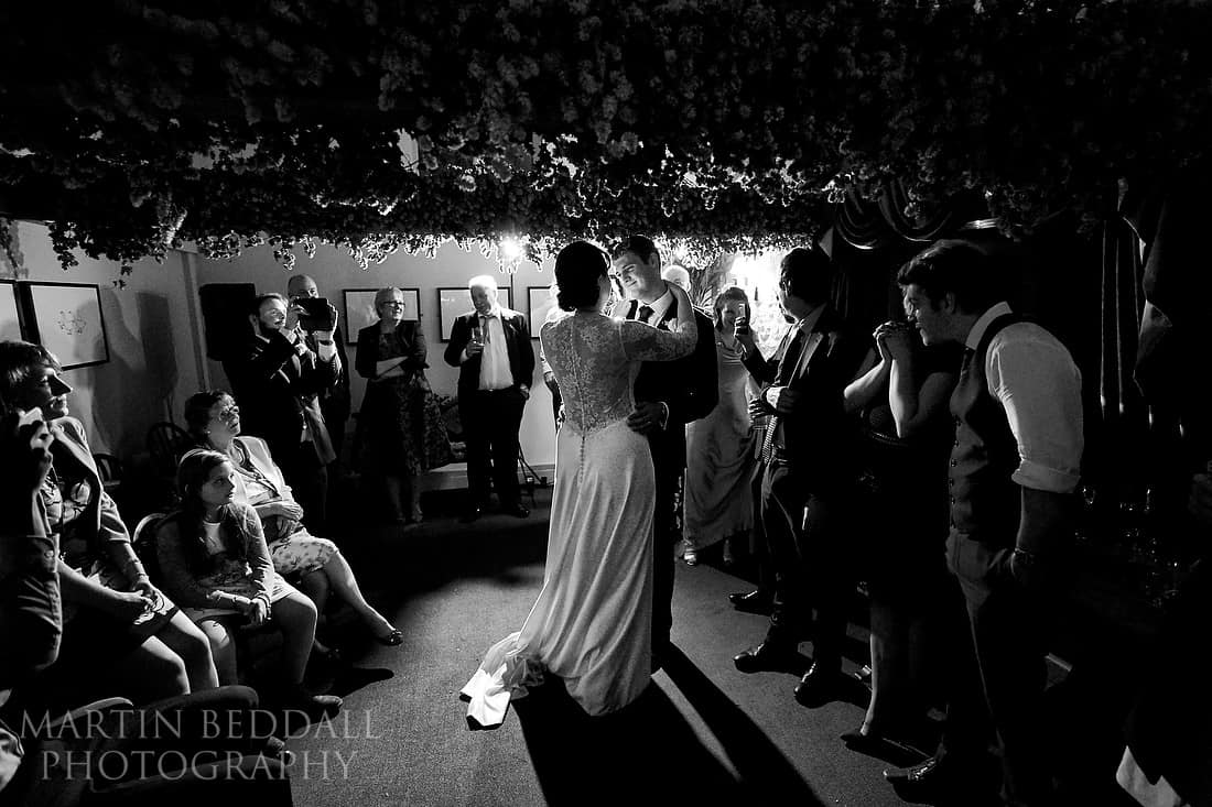 First dance at the Pointer pub