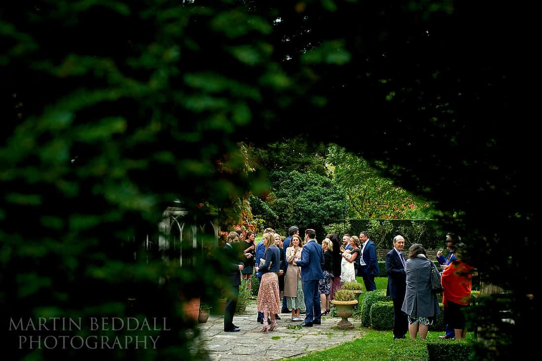 Dewsall Court wedding reception