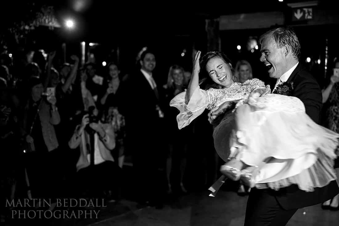 First dance at Dewsall Court