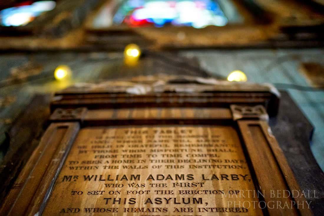The asylum chapel in Peckham