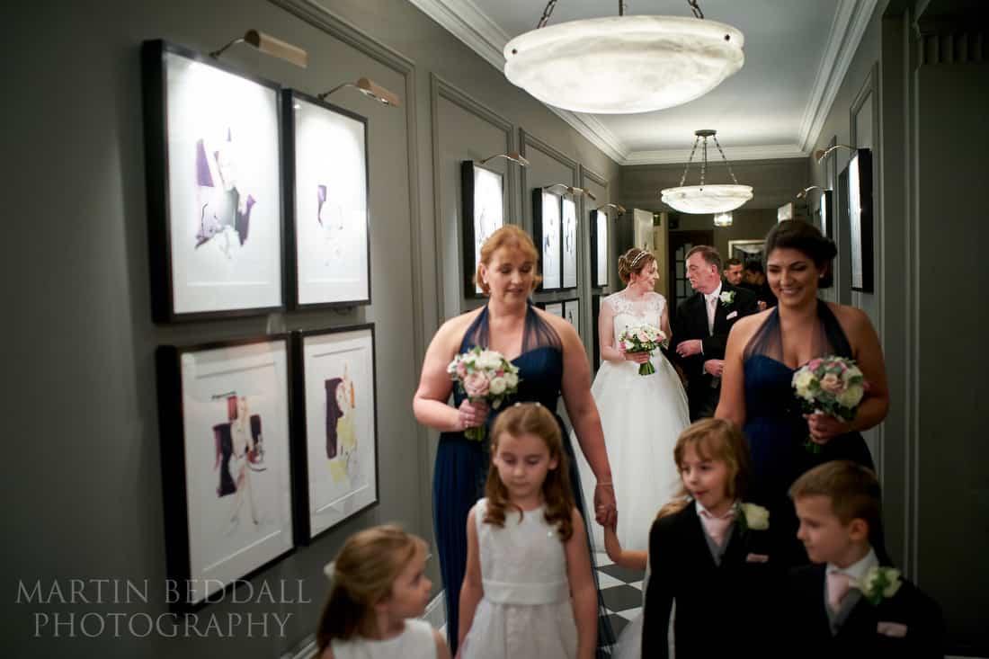 Corridor to the ceremony
