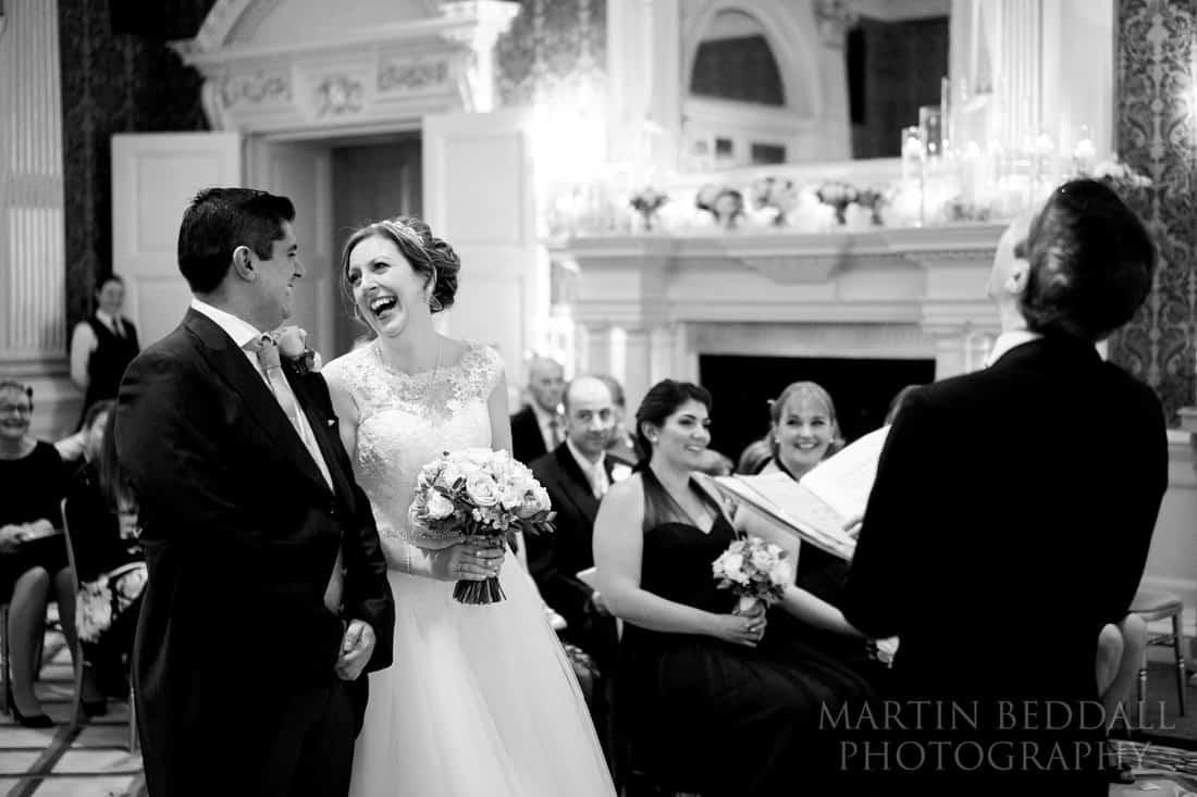 Claridges wedding ceremony