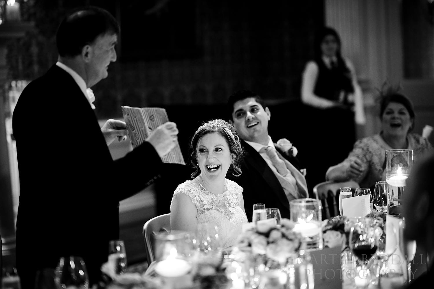 Claridges wedding speeches