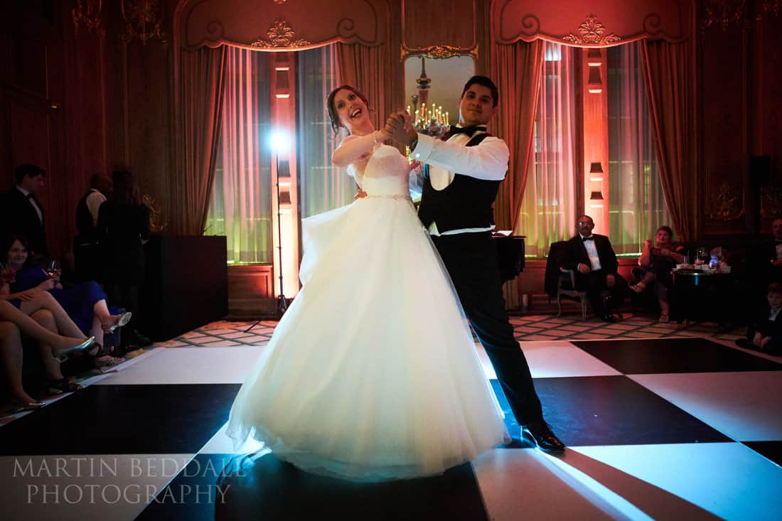 First dance at Claridges