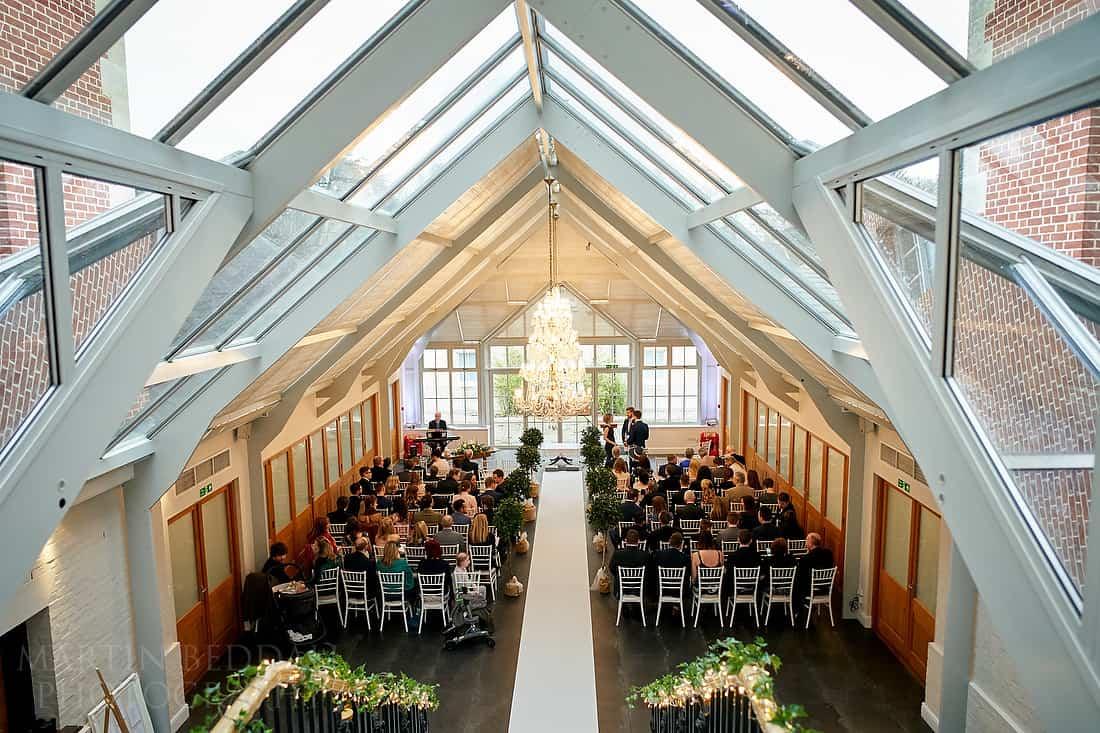 Botleys wedding ceremony