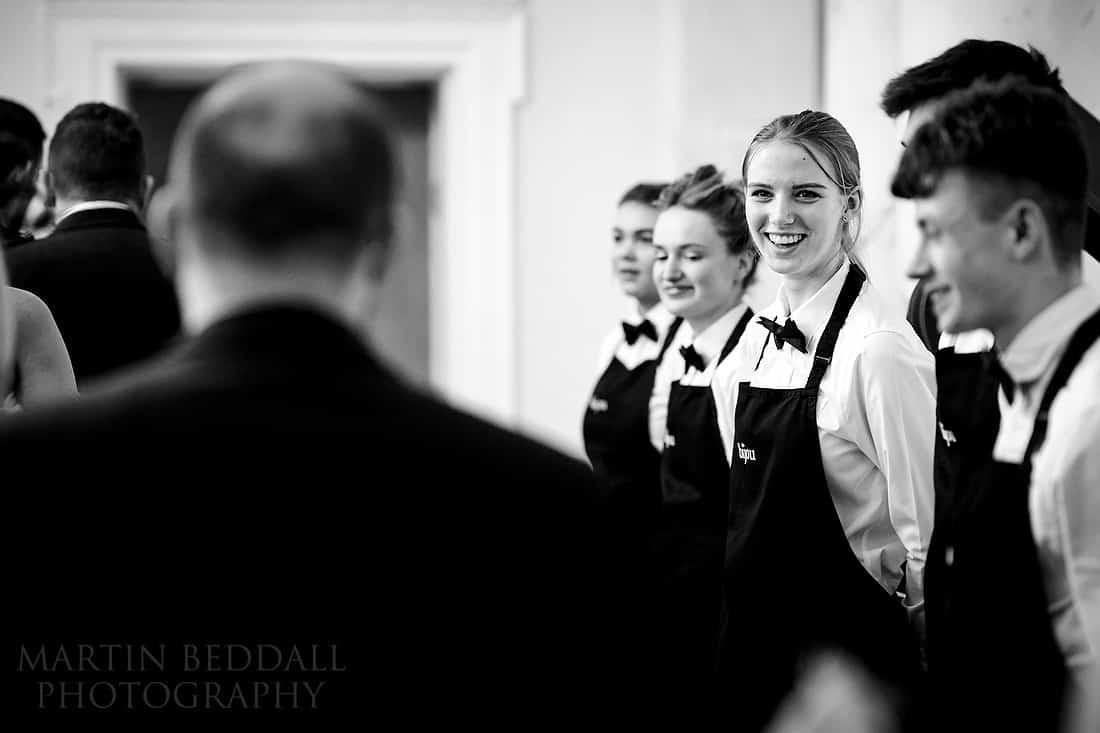 Botleys wedding reception
