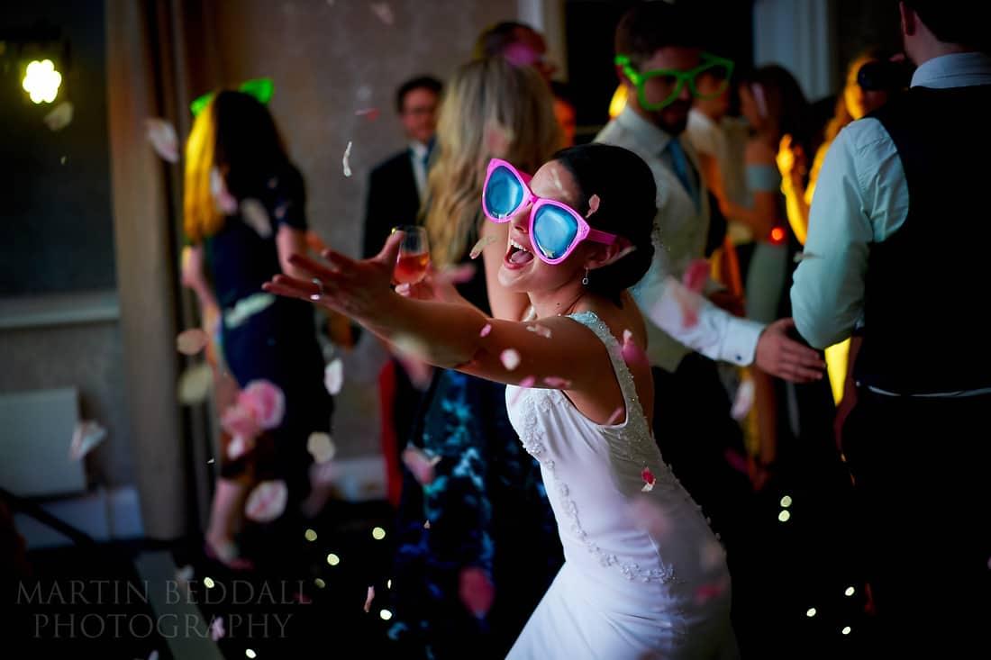 confetti on the dancefloor