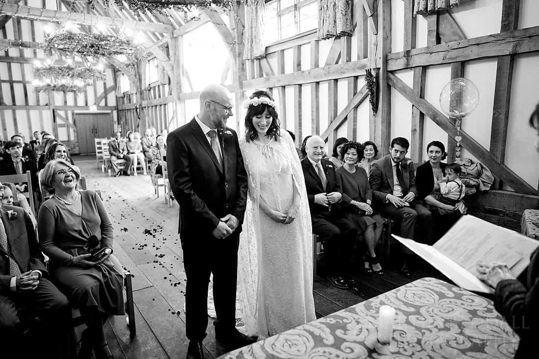 Gate St wedding ceremony