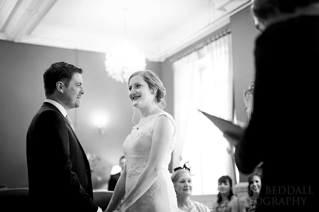 Brighton Town Hall wedding ceremony
