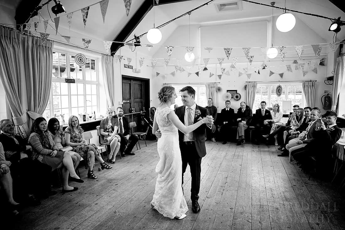 First dance at Iford village hall