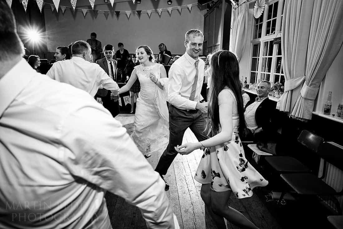 Sussex wedding ceilidh