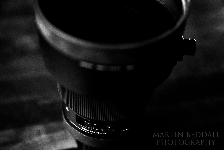 Sigma 105mm f1.4 ART lens for Sony E-mount cameras