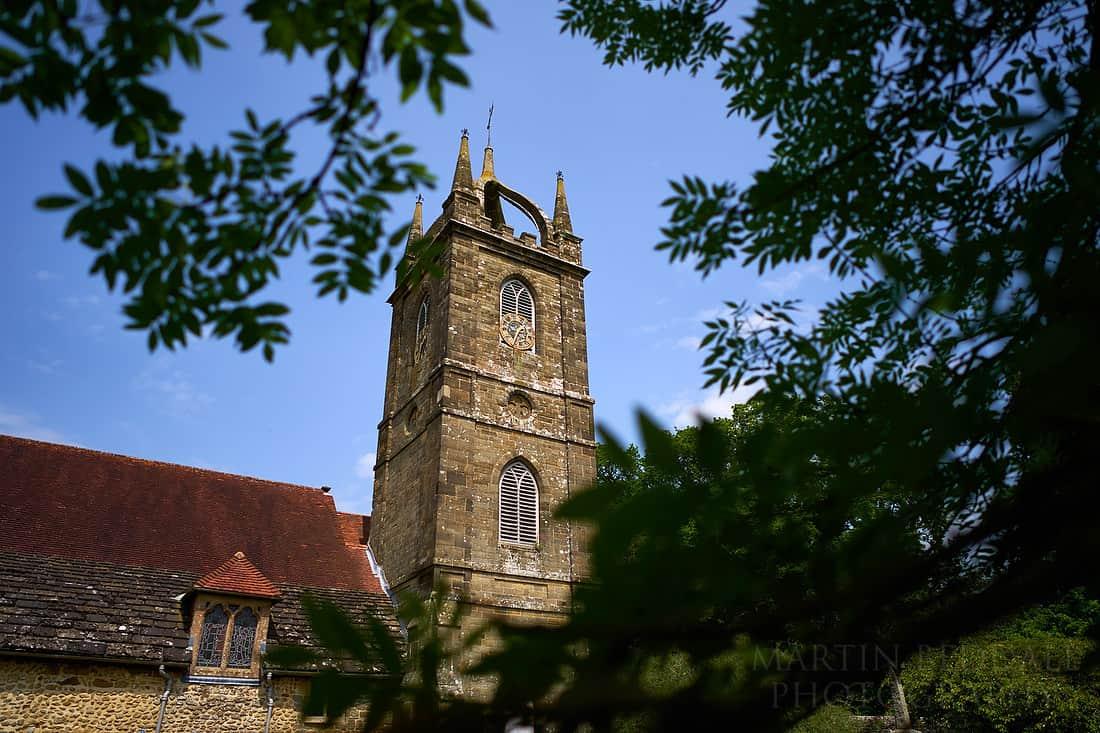 All Hallows church in Tillington
