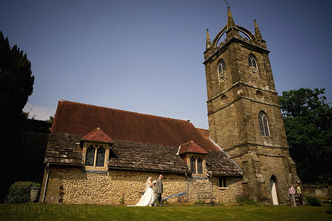 Tillington church