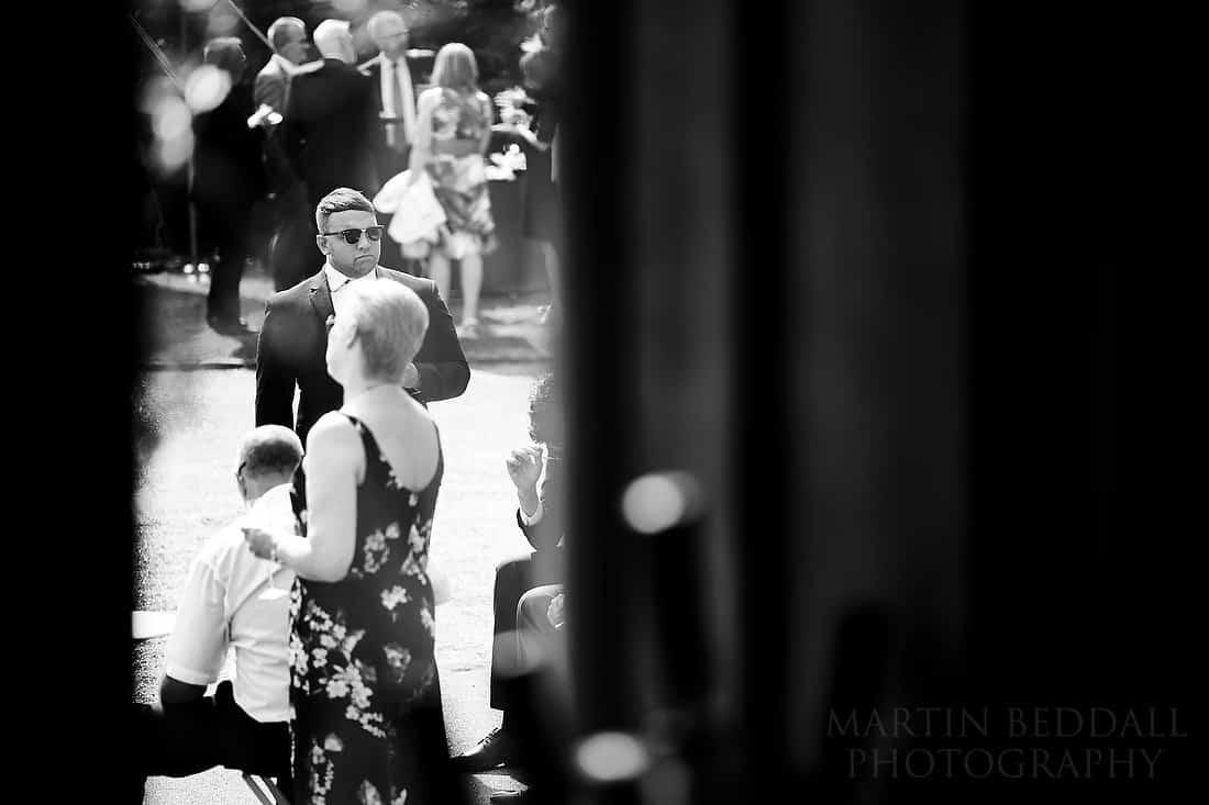 Wedding reception at Grittenham Barn