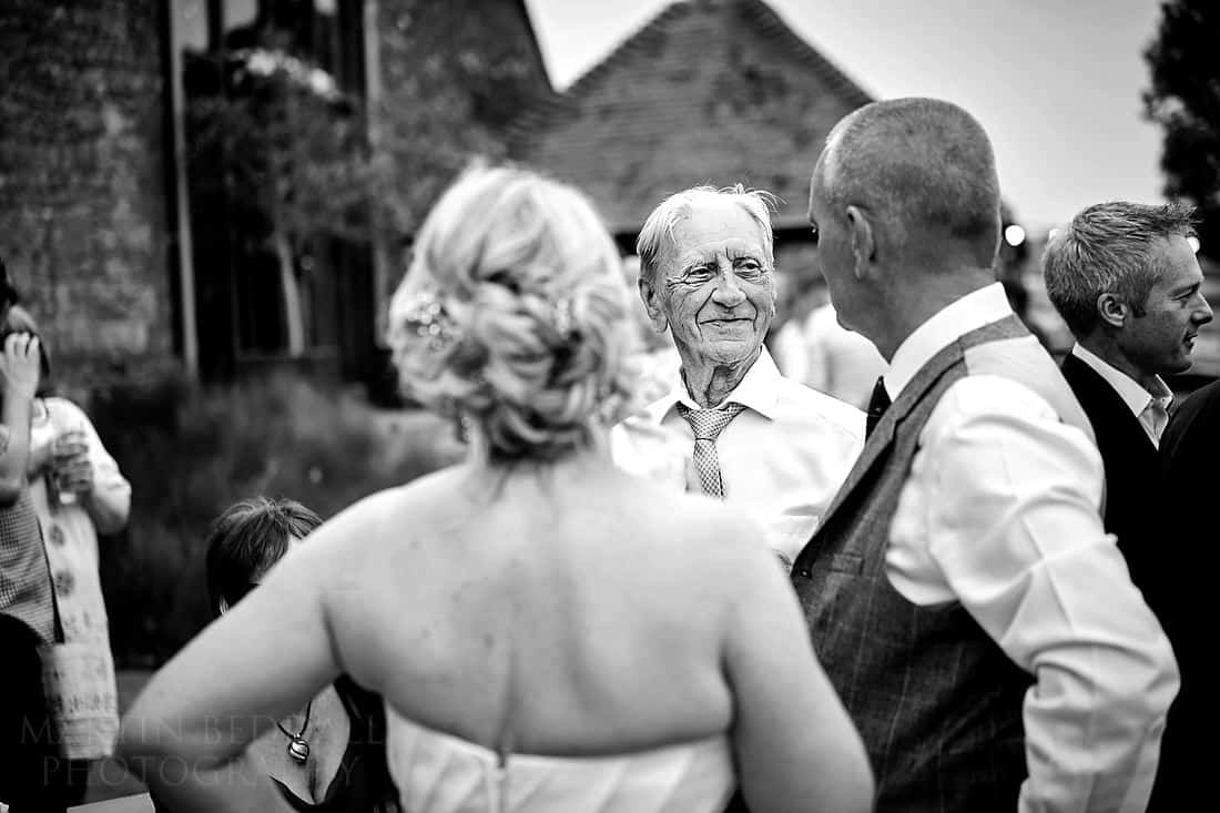 Groom's father