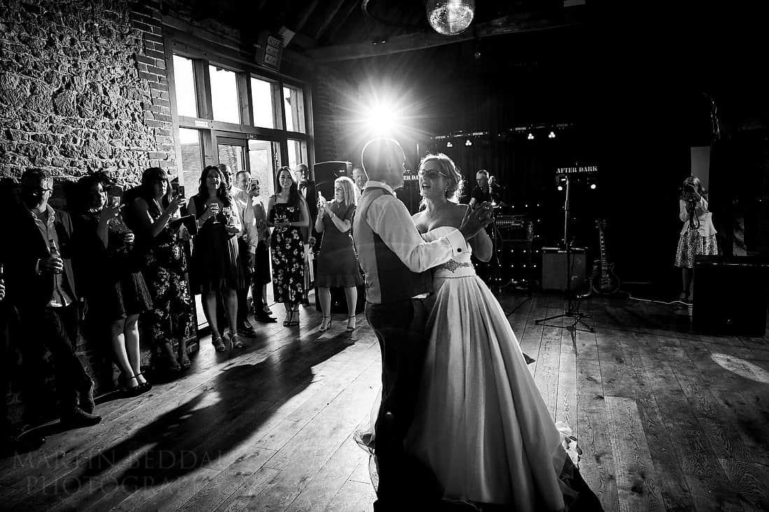 First dance at Grittenham Barn