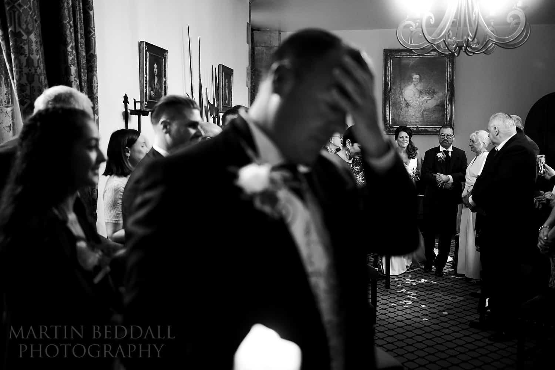 Amberley castle wedding ceremony
