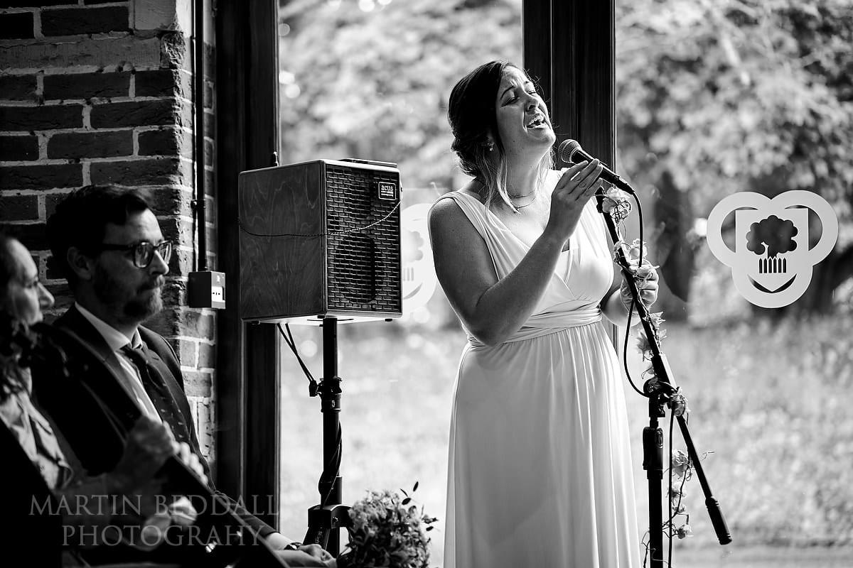 Cissbury Barns singing