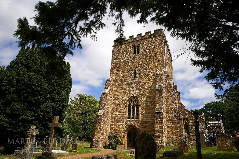 St Michael's church at Buckhurst