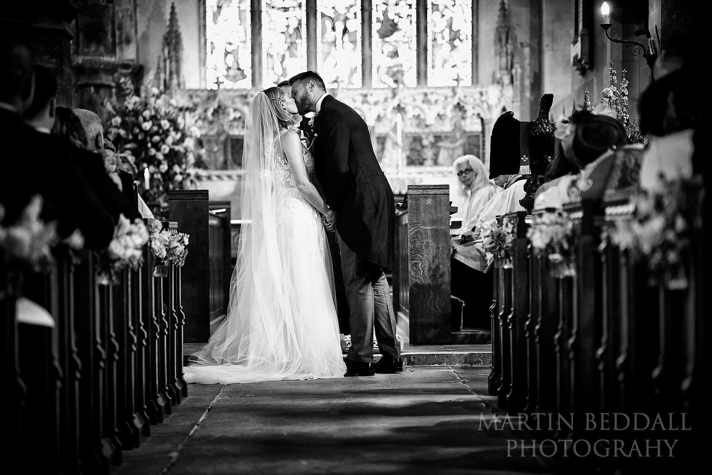 St Michael's church kiss