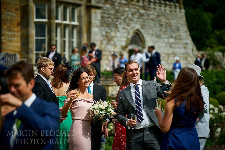 Guests arrive at Buckhurst Park