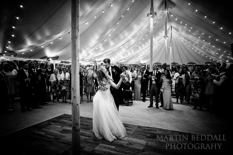 Buckhurst Park wedding first dance