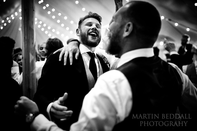 Buckhurst Park wedding dance floor
