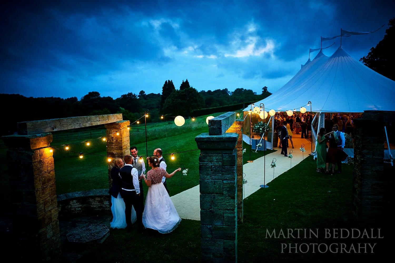 Evening at Buckhurst Park wedding