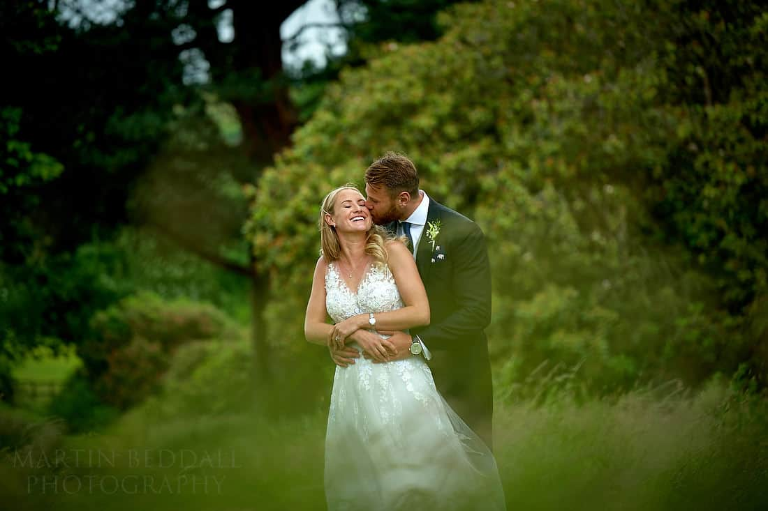 couple portrait at Buckhurst Park