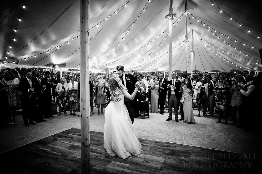 first dance at Buckhurst Park