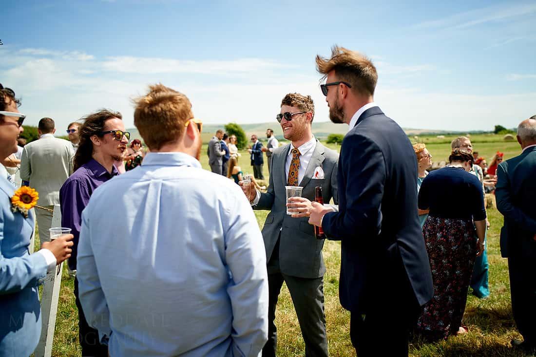 Party Field wedding reception