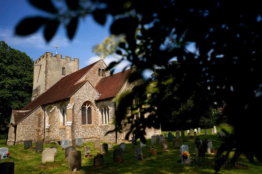 Sussex village wedding at Singleton church