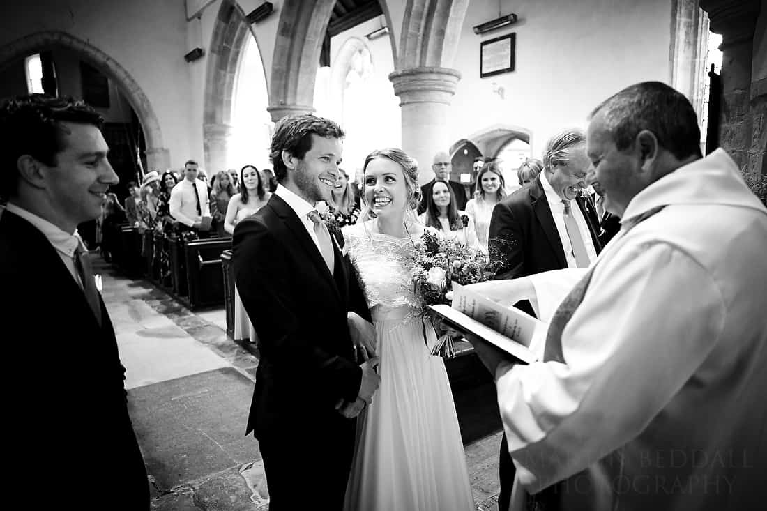 Sussex village wedding ceremony